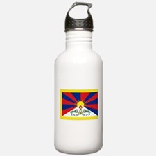 Tibet flag Water Bottle