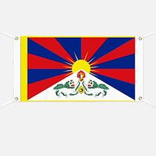 Tibet flag Banner