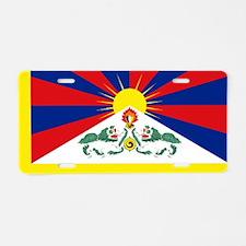 Tibet flag Aluminum License Plate