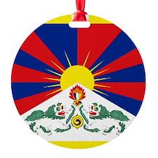 Tibet flag Ornament