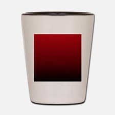 vampire red ombre Shot Glass