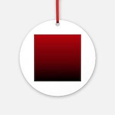 vampire red ombre Ornament (Round)