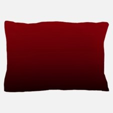 vampire red ombre Pillow Case