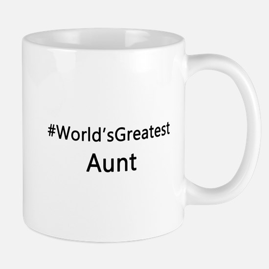 #World'sGreatestAunt Mugs