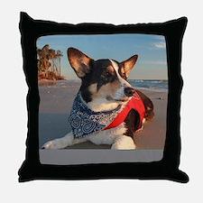 Lifeguard on Duty Throw Pillow
