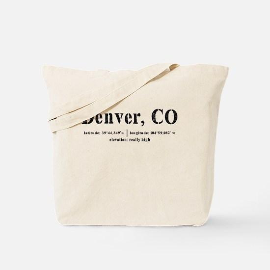 Denver has Altitude Tote Bag
