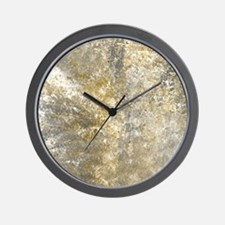 Stone Tile Wall Clock