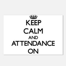 Keep Calm and Attendance Postcards (Package of 8)
