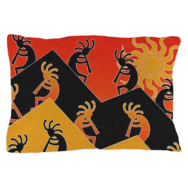 Kokopelli Southwestern Pillow Case by Admin_CP115274454