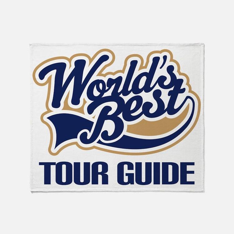 Tour Guide Throw Blanket