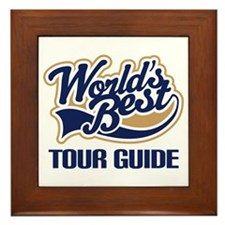 Tour Guide Framed Tile