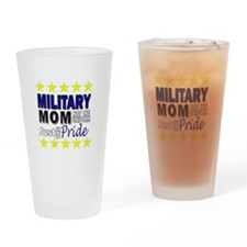 Cute Armed services Drinking Glass