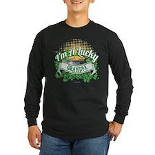 I'm a Lucky Grandpa Long Sleeve T-Shirt