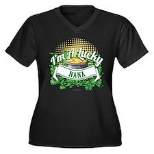 I'm a Lucky Nana Plus Size T-Shirt