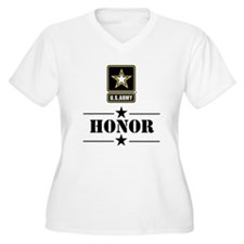 U.S. Army Honor Plus Size T-Shirt