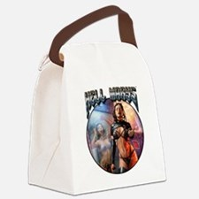 Cute Fantasy and scifi Canvas Lunch Bag