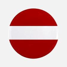 """Latvian flag 3.5"""" Button"""
