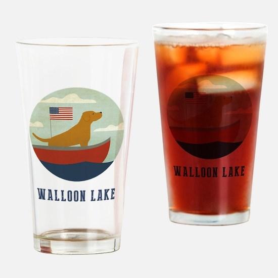 Funny Lake michigan Drinking Glass