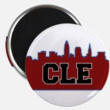 CLE Maroon/Black Magnets
