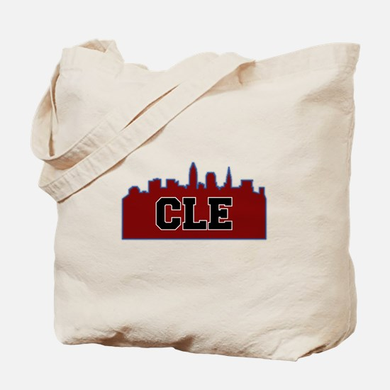 CLE Maroon/Black Tote Bag