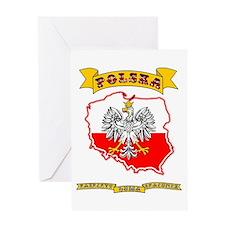 Polish Pride Greeting Cards