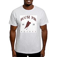 1921 Moose Jaw Hockey Ash Grey T-Shirt