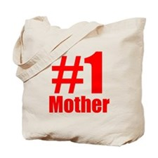 Number 1 Mother Tote Bag