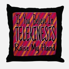 Telekinesis ~ Throw Pillow