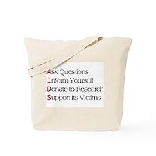 AIDS - Acronym Tote Bag