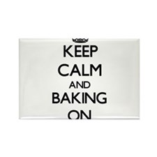 Keep Calm and Baking ON Magnets
