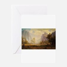 Bierstadt Landscape Greeting Cards