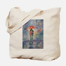Rainy Day Lovers Tote Bag