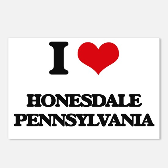 I love Honesdale Pennsylv Postcards (Package of 8)