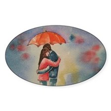 Rainy Day Lovers Decal