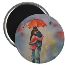 Rainy Day Lovers Magnets