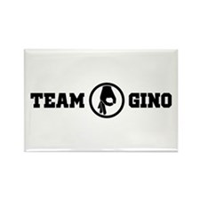 Team Gino 2 Rectangle Magnet Magnets