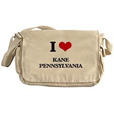 I love Kane Pennsylvania Messenger Bag