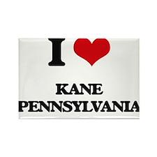 I love Kane Pennsylvania Magnets