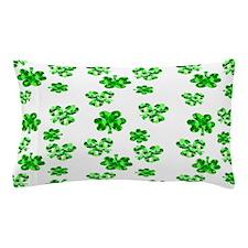 Shamrocks Pillow Case