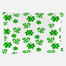 Shamrocks Pillow Case