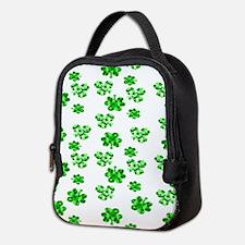Shamrocks Neoprene Lunch Bag