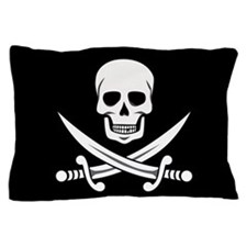 Skull and Crossbones Pillow Case
