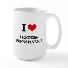 I love Ligonier Pennsylvania Mugs