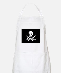 Skull and Swords Jolly Roger Apron