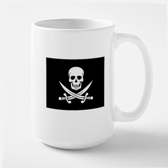 Skull and Swords Jolly Roger Mugs