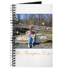 Mr. Pumpkin Depot Waiting For Bob. Journal