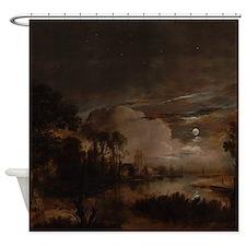 Vanderneer Landscape Shower Curtain
