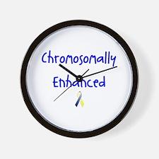 Chromosomally Enhanced Ribbon Wall Clock