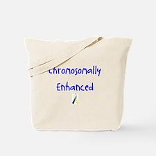 Chromosomally Enhanced Ribbon Tote Bag