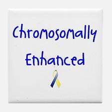 Chromosomally Enhanced Ribbon Tile Coaster